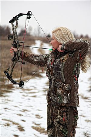 Miss Kansas Theresa Vail is an accomplished hunter who hopes to empower girls to join her in the field.