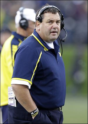 Michigan coach Brady Hoke said The Game isn't about OSU's BCS chances. 'It's not about them,' he said. 'It's about us.'