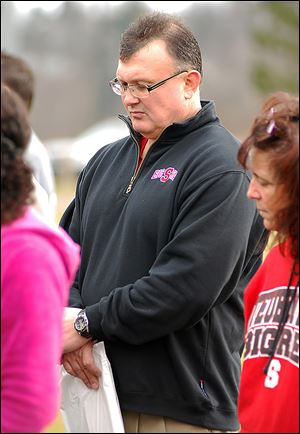Steubenville Schools Superintendent Michael McVey has been put on leave with pay.