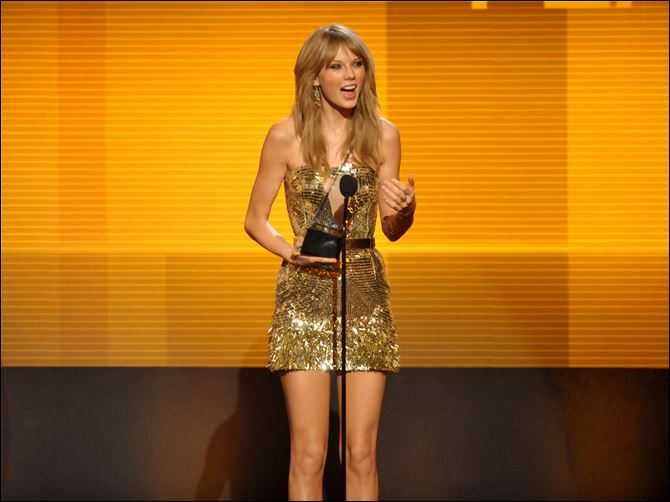 2013 American Music Awards Swift 11-25 Taylor Swift accepts the award for favorite country female artistat the American Music Awards  on Sunday in Los Angeles.