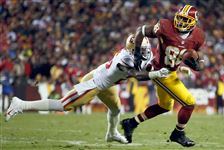 49ers-Redskins-Football