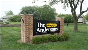 The Andersons headquarters, 480 West Dussel Drive in Maumee.