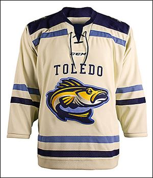 A white retro jersey will be one of two worn during the Walleye's outdoor games next December.