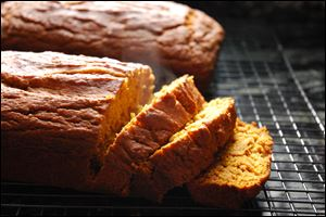 Dairy-free Maple Pumpkin Bread can be enjoyed by everyone around the table.