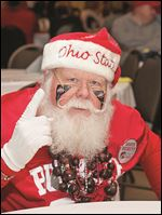 Bobby Johns, known as The Buckeye Santa