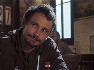 James Franco plays a meth dealer in 'Homefront.'