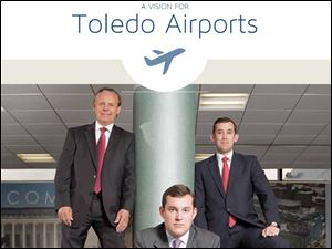 Home page of the toledoairports.com Web site.