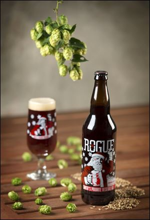 Santa's Private Reserve by Rogue Ales of Newport, Ore.