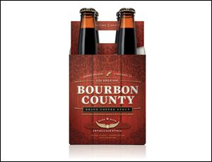 Goose Island Beer Co.'s Bourbon County coffee stout.