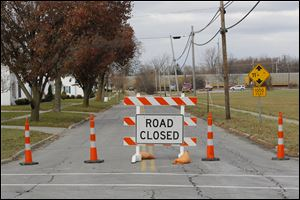 Part of Main Street that is near the rail yard in Willard was closed. Detours for motorists, however, were not as severe as disruptions to rail traffic in the area.
