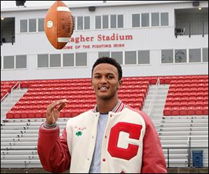 Central Catholic High School quarterback DeShone Kizer is the 2013 Blade player of the year.