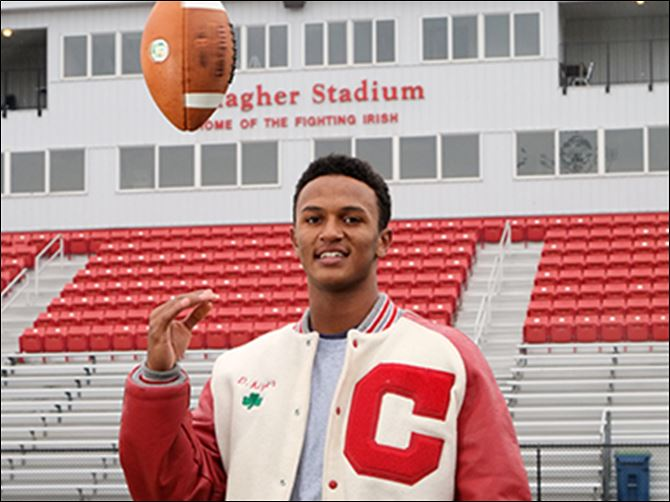 29n5tbox Central Catholic High School quarterback DeShone Kizer is the 2013 Blade player of the year.