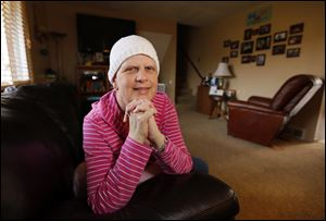 Sherrie Nimigean is battling stage 3c ovarian cancer.