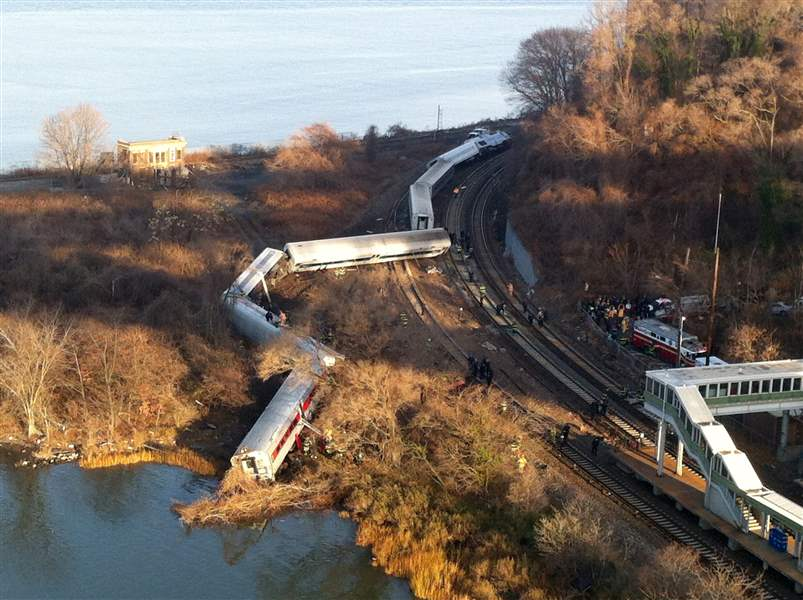 NYC-Train-Derailment