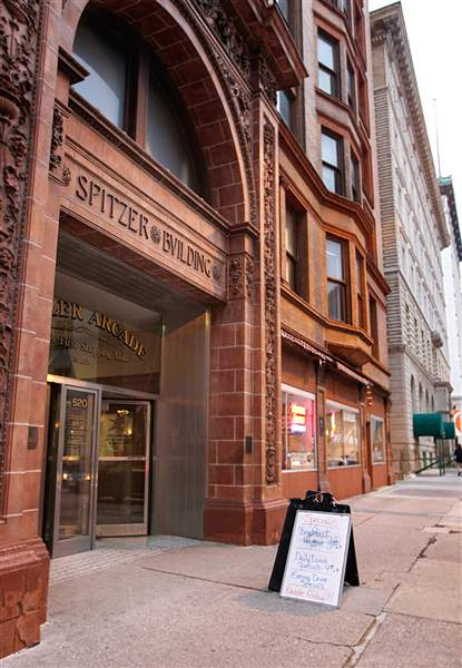 Now Shuttered Spitzer Building Marks Era S End The Blade