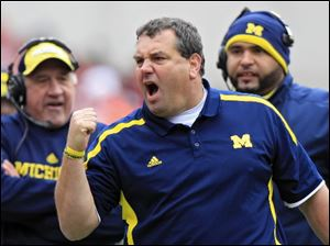 Michigan head coach Brady Hoke doesn't anticipate coaching staff changes for the next season.