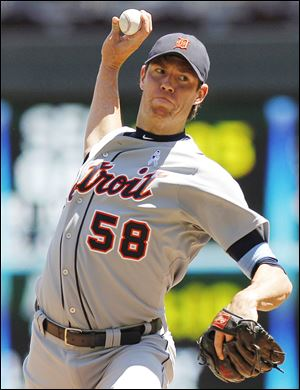Doug Fister, 29, was 14-9 with a 3.67 ERA last season for the Tigers. He was 32-20 in two-plus seasons with Detroit.
