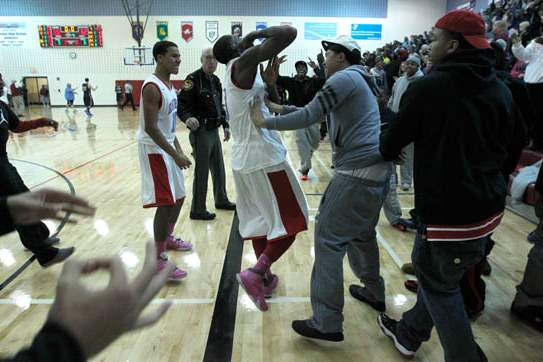 Bowsher-s-Dajuan-King-is-greeted-by-fans-after-his
