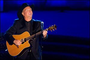 Garth Brooks performs onstage at the 42nd Annual Songwriters Hall of Fame Awards in New York.