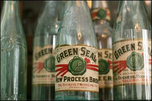These Prohibition Era-bottles were produced by Buckeye Brewery Co., based in Toledo and established in 1836.