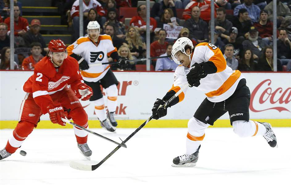 Flyers-Red-Wings-Hockey