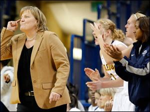 University of Toledo head coach Tricia Cullop.