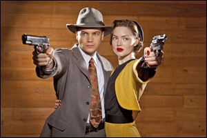 Emile Hirsch and Holliday Grainger star in the all-new miniseries 'Bonnie & Clyde'.
