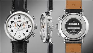 Shinola, a Detroit company that makes high-quality watches, has used the city's brand to boost sales.