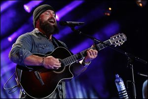 Zac Brown performs at the 2013 CMA Music Festival in Nashville,Tenn. in June.