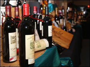 Dozens of vintages were on display at this year's Mobile Meals Wine Gala at the Stranahan Great Hall.