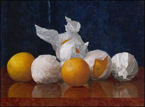 FUD William J. McCloskey (1859-1941); Wrapped Oranges; 1889; Oil on canvas; Amon Carter Museum, Fort Worth, Texas, Acquisition in memory of Katrine Deakins, Trustee, Amon Carter Museum, 1961-1985; 1985.251 Images courtesy of Art Institute of Chicago. NOT A BLADE PHOTO