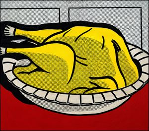 FUD Roy Lichtenstein. Turkey, 1961. Private collection. © Estate of Roy Lichtenstein. Image courtesy of Art Institute of Chicago. NOT A BLADE PHOTO