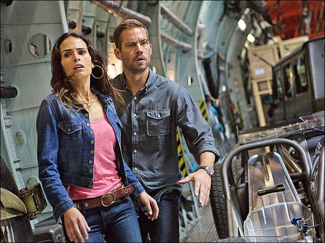 Fast And Furious 6 Jordana Brewster, as Mia, and the late Paul Walker, as Brian, make a break for it in 'Fast & Furious 6,' the latest installment of the global blockbuster franchise built on speed.