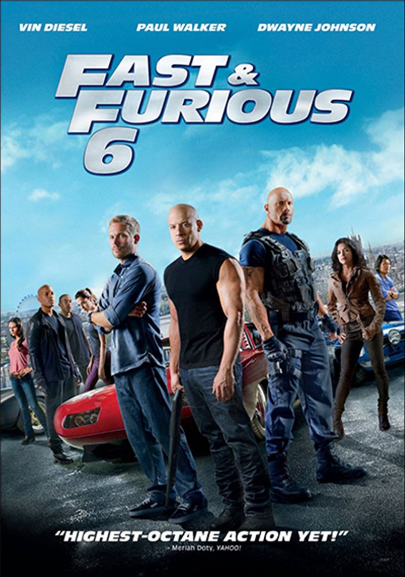 fast furious 6 starring the latepaul walker comes to dvd blu ray toledo blade. Black Bedroom Furniture Sets. Home Design Ideas