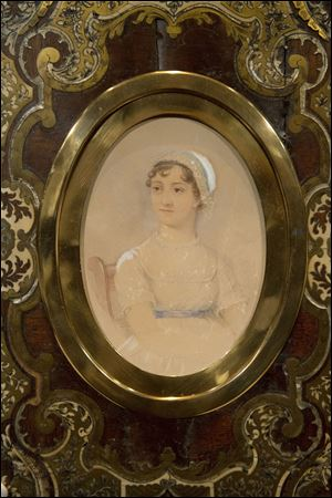 This portrait of novelist Jane Austen by James Andrews has sold f