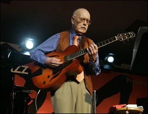 Guitarist Jim Hall.