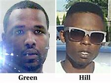 Shooting-victims-Darnell-Green-left-and-John-Hill-right