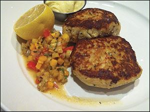 Crabcake at Mancy's Bluewater Grille