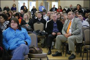 The release of a consultant's audit of Bowling Green State University operations drew a full house at the student union on Wednesday. Increasing enrollment and larger classes were some suggestions.