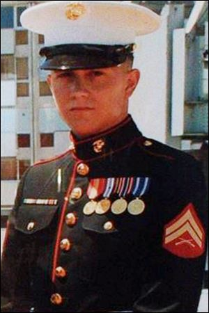 U.S. Marine Brian LaLoup died in 2012 while stationed in Greece.