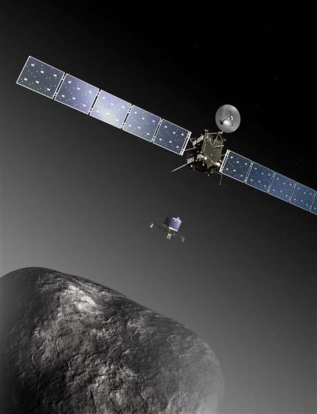 Germany-Europe-Comet-Landing