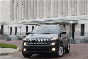 The 2014 Jeep Cherokee is one of three finalists for North American Truck/Utility Vehicle of the Year.