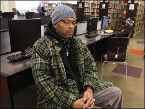 Curtis Houston, 42, is one of the nearly 2,400 people in Lucas County who will no longer be eligible to receive the federal emergency employment assistance.