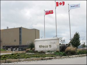 Ontario Power Generation is asking the government for permission to permanently store low and intermediate-level radioactive waste from the Bruce Power property.