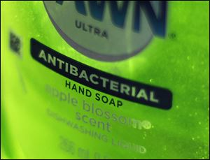 Dawn Ultra antibacterial soap.