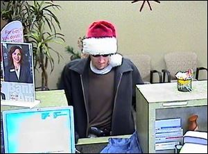 A bank robbery was reported at 2:15 p.m. today at the Bank of America on Monroe Street in Dundee, Mich.