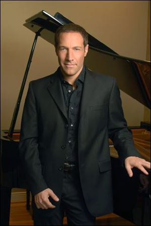 Jim Brickman performs at 3 p.m. Sunday at the Stranahan Theater.