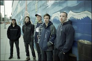 Local rock band Citizen performs Friday at Ottawa Tavern.