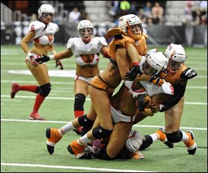 Cleveland Crush in action.