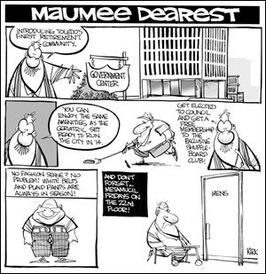 Kirk's Maumee Dearest: Aging Government